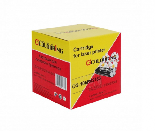 Картридж для Xerox phaser 3010 3010b 3040 3040b workcentre 3045 3045b 3045ni mfp - 106R02183 - (2300 страниц) - Colouring