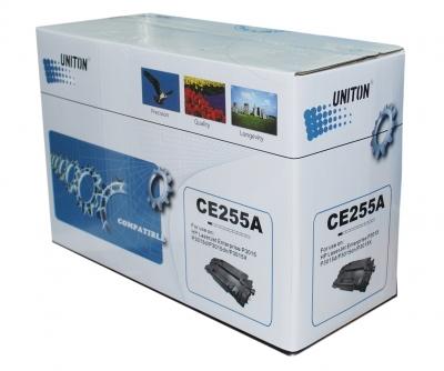 Картридж для hp laserjet m525c m525f m525dn p3015 p3015d p3015dn p3015x pro m521dn m521dw mfp ce255a (6000 страниц) - Uniton
