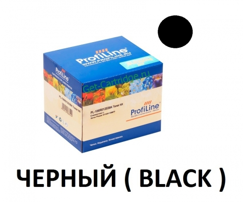 Картридж для Xerox phaser 6110 6110mfp Black черный - 106R01203 - (2000 страниц) - ProfiLine