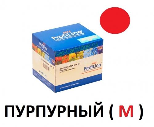 Картридж для Xerox Phaser 6110 6110MFP Magenta пурпурный - 106R01205 - (1000 страниц) - ProfiLine
