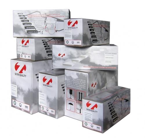 Тонер-картридж Kyocera FS-C5020 TK-510 (8k) Y (+чип) БУЛАТ s-Line