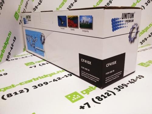 Картридж для HP LaserJet Pro Color m377dw m452dn m452nw m477fdn m477fdw MFP CF410X 410X Bk Black черный (6500 страниц) ЭКОНОМИЧНЫЙ - Uniton