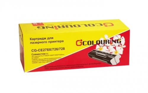 Картридж для hp laserjet pro p1560 p1566 p1600dn p1606dn p1606w m1536dnf mfp ce278x 78x (2500 страниц) - Colouring