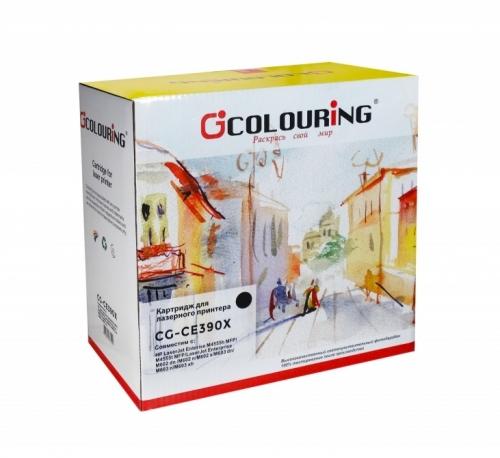 Картридж для hp laserjet Enterprise 600 m4555 m4555h m4555fskm mfp m602n m602dn m602x m603n m603dn m603xh ce390x 90x (24000 страниц) - Colouring
