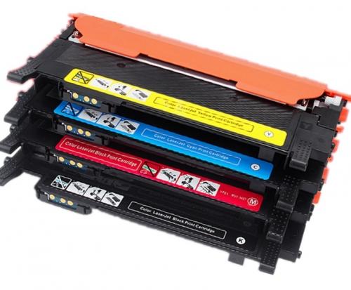Картридж для Samsung Xpress SL-C430 SL-C430W SL-C480 SL-C480W SL-C480FN SL-C480FW CLT-C404S Cyan синий (1000 страниц) - Hi-Black