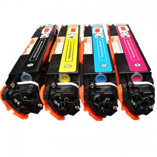 Картридж для HP Color LaserJet Pro MFP m176n m177fw cf351a 130a cyan синий (1000 страниц) - UNITON