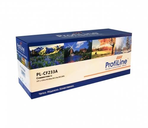 Картридж для hp laserjet pro ultra m106w m134a m134fn mfp cf233a 33a (2300 страниц) - Profiline