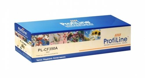 Картридж для hp color laserjet pro m176n m177fn m177fw mfp cf350a 130a black (1300 страниц) - Profiline