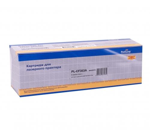 Картридж для hp color laserjet pro m176n m177fn m177fw mfp cf353a 130a magenta (1000 страниц) - Profiline