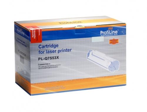 Картридж для hp laserjet p2014 p2015d p2015n p2015dn m2727nf m2727nfs mfp q7553x 53x (7000 страниц) - ProfiLine