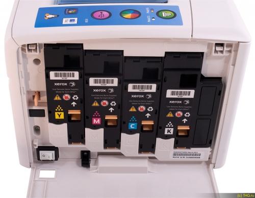 Картридж для Xerox Phaser 6020 6020BI 6022 6022NI WorkCentre 6025 6025BI 6027 6027NI синий - 106R02760 - (1000 страниц) - Hi-Black