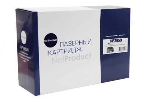 Картридж для hp laserjet m525c m525f m525dn p3015 p3015d p3015dn p3015x pro m521dn m521dw mfp ce255x 55x (12500 страниц) - NetProduct