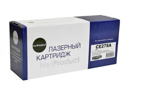 Картридж для hp laserjet pro p1560 p1566 p1600dn p1606dn p1606w m1536dnf mfp ce278a 78a (2100 страниц) - NetProduct