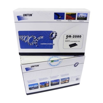 Блок фотобарабана (драм картридж) для Brother DCP-7055R DCP-7055W DCP-7055WR HL-2130R DR-2080 (12000 страниц) - UNITON