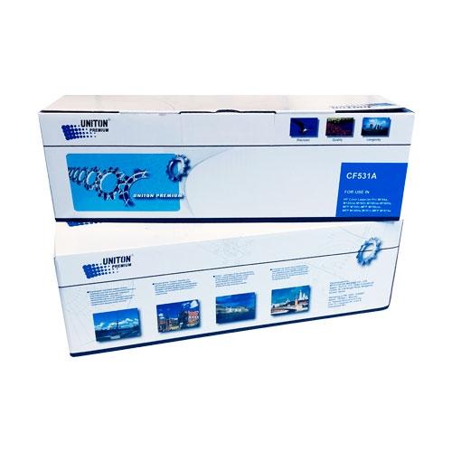 Картридж для HP Color LaserJet Pro M154A M154NW M180N M181N M181FW MFP CF531A 205A Cyan синий (900 страниц) - Uniton