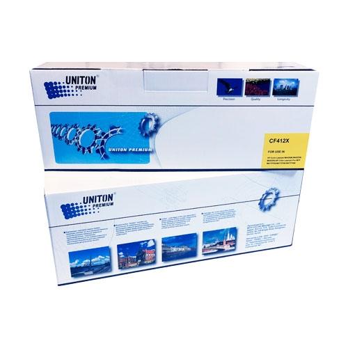 Картридж для HP LaserJet Pro Color m377dw m452dn m452nw m477fdn m477fdw MFP CF412X 410X Yellow желтый (5000 страниц) ЭКОНОМИЧНЫЙ - Uniton
