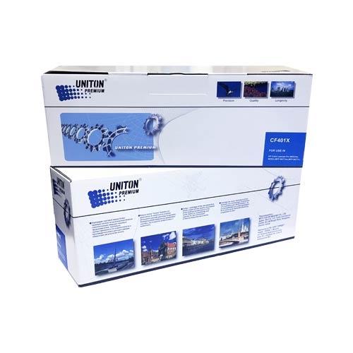 Картридж для HP LaserJet Pro Color m252n m252dw m274n m277n m277dw mfp CF401X 201X Cyan синий (2300 страниц) ЭКОНОМИЧНЫЙ - Uniton