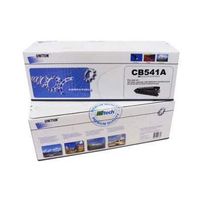 Картридж для hp Color laserjet cm1312 cm1312nfi cp1210 cp1215 cp1515n cp1518ni mfp cb541a 125a cyan синий (1400 страниц) - Uniton