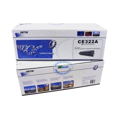 Картридж для HP Color LaserJet Pro cp1525n cp1525nw cm1415fn cm1415fnw mfp ce322a 128a yellow желтый (1300 страниц) - Uniton