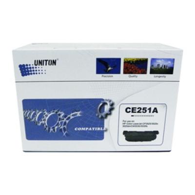 Картридж для hp laserjet color cm3530 cp3520 cp3525 ce251a 504a cyan синий (7000 страниц) - Uniton