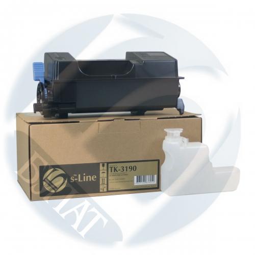 Тонер-картридж для Kyocera EcoSys p3055dn p3060dn TK-3190 (25000 страниц) - Булат s-Line