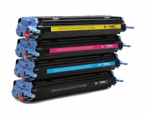 Картридж для HP Color LaserJet 1600 2600n 2605dn CM1015 CM1017 MFP Q6001A 124A cyan синий (2000 страниц) - UNITON