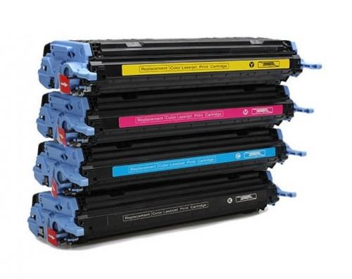 Картридж для HP Color LaserJet 1600 2600n 2605dn CM1015 CM1017 MFP Q6003A 124A magenta пурпурный (2000 страниц) - UNITON