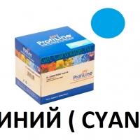 Картридж для Xerox phaser 6110 6110mfp Cyan синий - 106R01206 - (1000 страниц) - ProfiLine