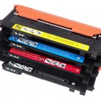 Картридж для Samsung CLP-360 CLP-364 CLP-365 CLP-366 CLP-367 CLP-368 CLP-410 CLP-460 CLX-3300 CLX-3302 CLX-3303 CLX-3304 CLX-3305 CLX-3306 CLX-3307 Xpress SL-C410 SL-C460 CLT-M406S Magenta пурпурный (1000 страниц) - Colouring