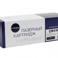 Картридж для hp laserjet p1505 p1505n m1120 m1120n m1522 m1522n m1522nf mfp cb436a 36a (2000 страниц) - NetProduct
