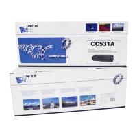 Картридж для hp color laserjet cm2025n cm2025x cm2025dn cm2320fxi cm2320n cm2320nf mfp cc531a 304a cyan синий (2800 страниц) - Uniton