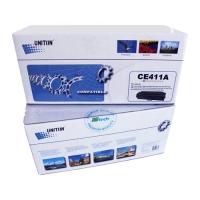 Картридж для HP Color LaserJet Pro 300 m351a m375nw 400 m451dn m451nw m475dn m475dw mfp CE411A 305A Cyan синий (2600 страниц) - Uniton