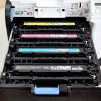 Картридж для HP Color LaserJet Pro 300 m351a m375nw 400 m451dn m451nw m475dn m475dw MFP CE410A 305A Bk Black черный (2200 страниц) - Uniton