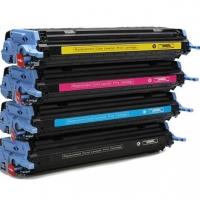 Картридж для HP Color LaserJet 1600 2600n 2605dn CM1015 CM1017 MFP Q6000A 124A black черный (2500 страниц) - UNITON