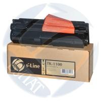Тонер-картридж для Kyocera EcoSys fs-1110 fs-1024mfp fs-1124mfp tk-1100 (2100 страниц) - БУЛАТ s-Line