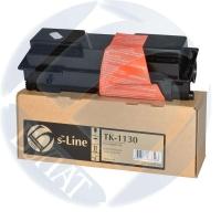 Тонер-картридж для Kyocera EcoSys fs-1030mfp fs-1130mfp m2030dn m2530dn tk-1130 (3000 страниц) - s-Line
