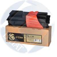 Тонер-картридж для Kyocera EcoSys fs-1028mfp fs-1128mfp fs-1300d fs-1300dn fs-1350dn tk-130 (7200 страниц) - s-Line