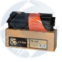 Тонер-картридж для Kyocera EcoSys fs-1120d fs-1120dn fs-1120mfp p2035d p2035dn tk-160 (2500 страниц) - s-Line