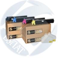 Тонер-картридж Kyocera FS-C5015 TK-520 (4k) Cyan БУЛАТ s-Line