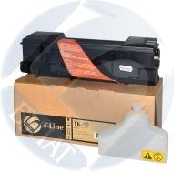 Тонер-картридж Kyocera FS-1920 TK-55 (15000 страниц) - БУЛАТ s-Line