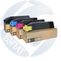 Тонер-картридж Kyocera FS-C8600/C8650 TK-8600 (20k) (+чип) Y БУЛАТ s-Line