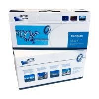 Тонер-картридж для Kyocera EcoSys p5026cdn p5026cdw m5526cdn m5526cdw TK-5240C синий (3000 страниц) ЭКОНОМИЧНЫЙ - Uniton