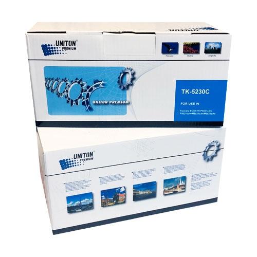 Тонер-картридж для KYOCERA ECOSYS P5021cdn P5021cdw M5521cdn M5521cdw TK-5230C синий (2200 страниц) ЭКОНОМИЧНЫЙ - UNITON