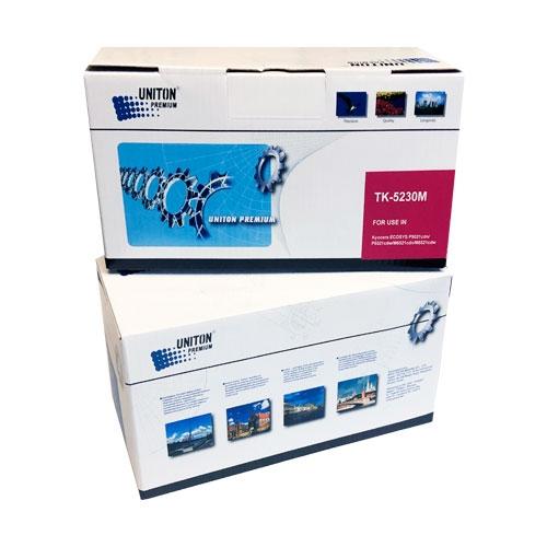 Тонер-картридж для KYOCERA ECOSYS P5021cdn P5021cdw M5521cdn M5521cdw TK-5230M пурпурный (2200 страниц) ЭКОНОМИЧНЫЙ - UNITON