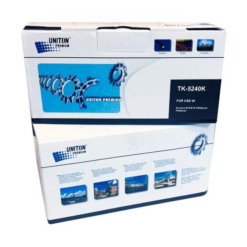 Тонер-картридж для Kyocera EcoSys p5026cdn p5026cdw m5526cdn m5526cdw TK-5240K черный (4000 страниц) ЭКОНОМИЧНЫЙ - Uniton